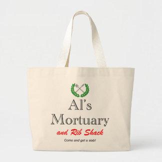 AL'S MORTUARY LARGE TOTE BAG