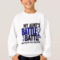 ALS My Battle Too 1 Aunt Sweatshirt
