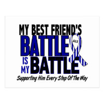 ALS My Battle Too 1 Best Friend (Male) Postcard