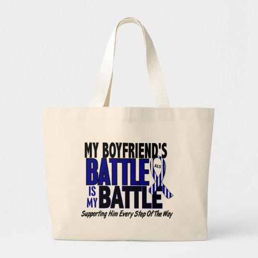 ALS My Battle Too 1 Boyfriend Bag