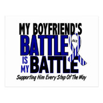 ALS My Battle Too 1 Boyfriend Postcard