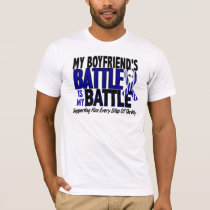 ALS My Battle Too 1 Boyfriend T-Shirt