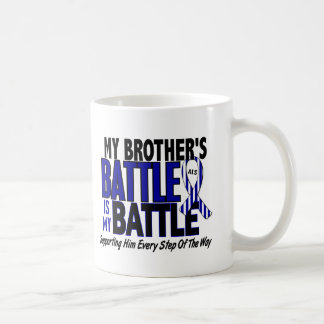 ALS My Battle Too 1 Brother Classic White Coffee Mug