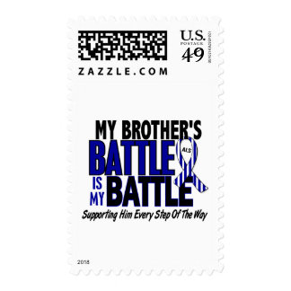 ALS My Battle Too 1 Brother Postage Stamps