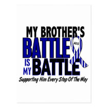 ALS My Battle Too 1 Brother Postcard