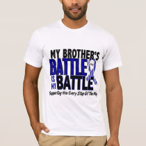 ALS My Battle Too 1 Brother T-Shirt
