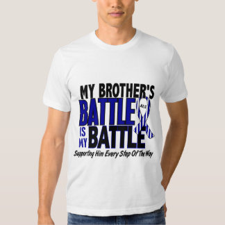 ALS My Battle Too 1 Brother Tee Shirt