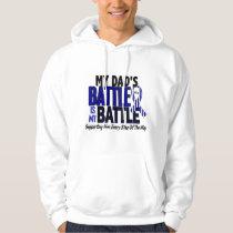 ALS My Battle Too 1 Dad Hoodie