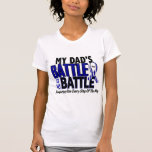 ALS My Battle Too 1 Dad Shirt