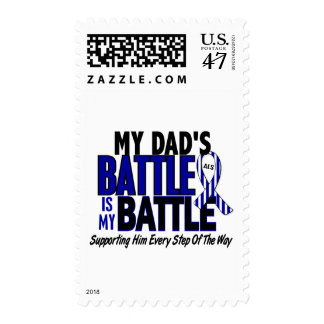 ALS My Battle Too 1 Dad Stamp