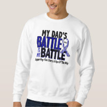ALS My Battle Too 1 Dad Sweatshirt