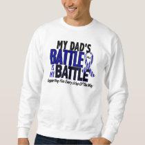 ALS My Battle Too 1 Dad Sweatshirt