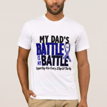 ALS My Battle Too 1 Dad T-Shirt