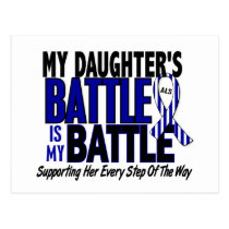 ALS My Battle Too 1 Daughter Postcard