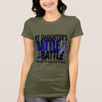ALS My Battle Too 1 Daughter T-Shirt