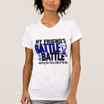 ALS My Battle Too 1 Friend (Female) T-Shirt