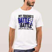 ALS My Battle Too 1 Friend (Female) T-Shirt
