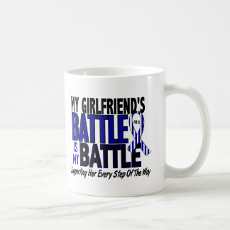 ALS My Battle Too 1 Girlfriend Classic White Coffee Mug