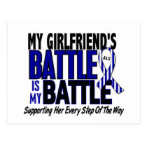 ALS My Battle Too 1 Girlfriend Postcard