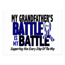 ALS My Battle Too 1 Grandfather Postcard