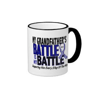 ALS My Battle Too 1 Grandfather Ringer Coffee Mug