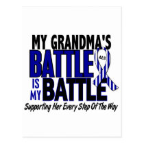 ALS My Battle Too 1 Grandma Postcard