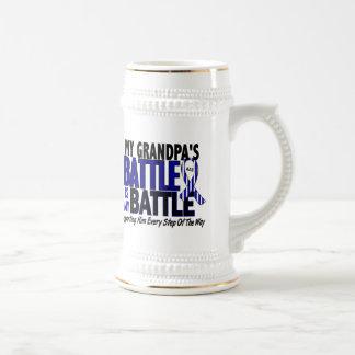 ALS My Battle Too 1 Grandpa 18 Oz Beer Stein