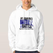 ALS My Battle Too 1 Grandpa Hoodie