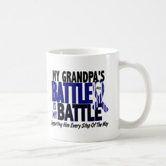 ALS My Battle Too 1 Grandpa Classic White Coffee Mug