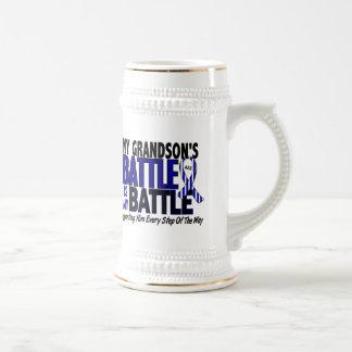 ALS My Battle Too 1 Grandson 18 Oz Beer Stein