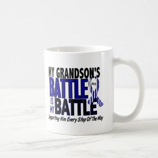 ALS My Battle Too 1 Grandson Classic White Coffee Mug