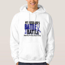 ALS My Battle Too 1 Husband Hoodie