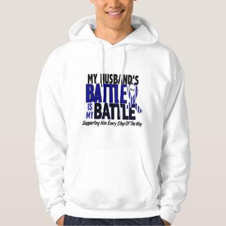 ALS My Battle Too 1 Husband Hoodie