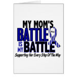 ALS My Battle Too 1 Mom Greeting Card