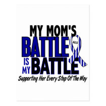ALS My Battle Too 1 Mom Postcard