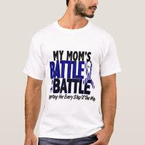 ALS My Battle Too 1 Mom T-Shirt