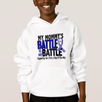ALS My Battle Too 1 Mommy Hoodie