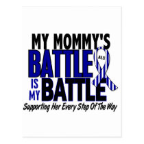 ALS My Battle Too 1 Mommy Postcard