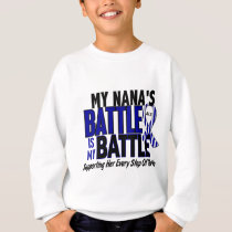 ALS My Battle Too 1 Nana Sweatshirt