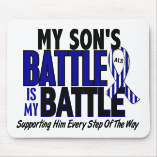 ALS My Battle Too 1 Son Mouse Pad