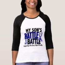 ALS My Battle Too 1 Son T-Shirt