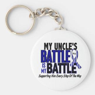 ALS My Battle Too 1 Uncle Basic Round Button Keychain