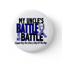 ALS My Battle Too 1 Uncle Pinback Button