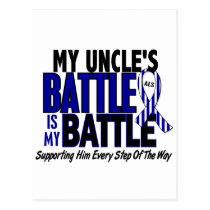 ALS My Battle Too 1 Uncle Postcard