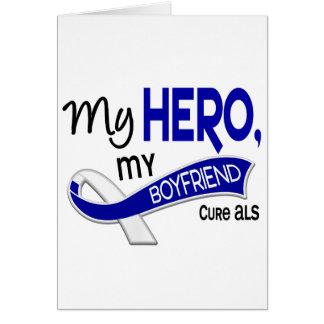 ALS My Boyfriend My Hero 42 Greeting Card