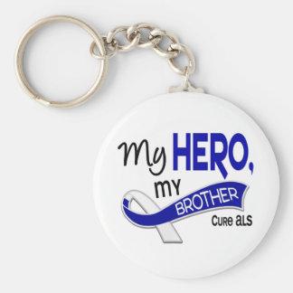 ALS My Brother My Hero 42 Keychain