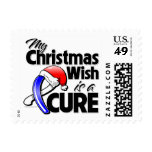 ALS My Christmas Wish is a Cure Stamps
