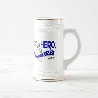 ALS My Dad My Hero 42 Beer Stein