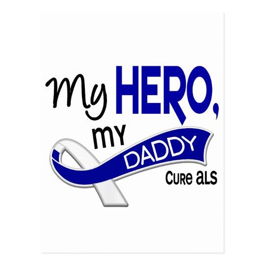ALS My Daddy My Hero 42 Postcard