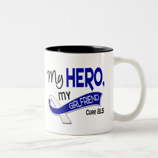 ALS My Girlfriend My Hero 42 Two-Tone Coffee Mug